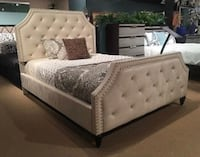 New Queen Claudine bed frame. Free DLVRY!