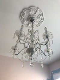Chandelier that was in little girls room!
