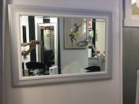 Mirror silver and white accents Annapolis, 21401