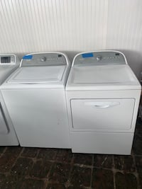 Whirlpool top load washer & dryer set working perfectly Baltimore, 21223
