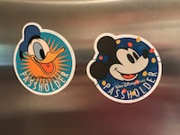 Disney Annual Passholder Magnets Miami, 33143