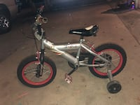 toddler's gray and red bicycle Lynwood, 90262