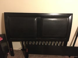 Queen Bed Frame (Minor Scratches) $150 OBO