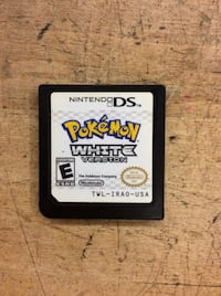 Pokémon white version Nintendo ds game pre owned tested Baltimore, 21205