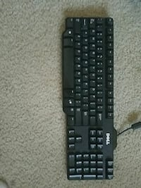 black Dell corded keyboard Ft. Washington, 20744