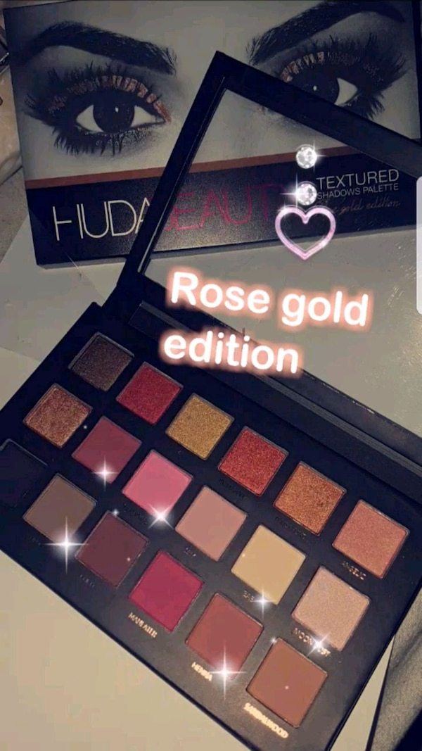 Palette  Huda rose gold