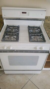 white 4-burner gas range Las Vegas, 89142