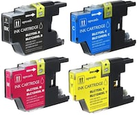 Brother LC71 / LC75  Compatible Ink (Each Color) Toronto