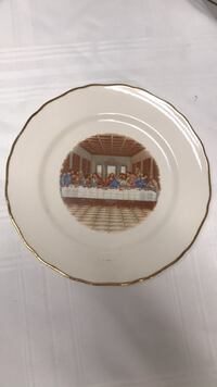 """the lords supper 22 kt Gold  10"""" College Station, 77845"""