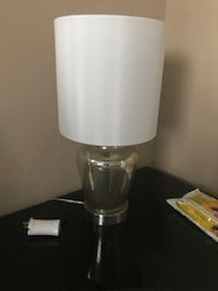 White and gray table lamp Delray Beach, 33445