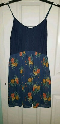 Navy blue/floral dress Laurel, 20723