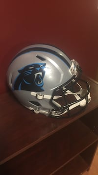 Full size replica Carolina panthers helmet. Mint condition