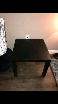 rectangular black wooden coffee table London, N6H 5K3