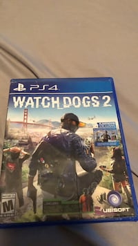 Watch Dogs 2 PS4 game case Houston, 77044