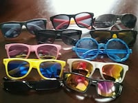 Variety  sun glasses 11 pieces for 15$ Oshawa, L1K 0B9