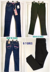 New With & Without Tags Size 6/7