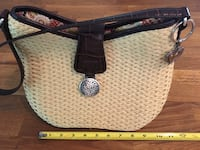 Brighton handcrafted straw bag  Barrie