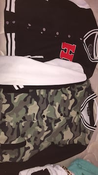 black and white camouflage print shorts Columbia, 38401