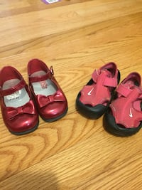 Baby girl shoe size for one new and one used Warwick, 02888