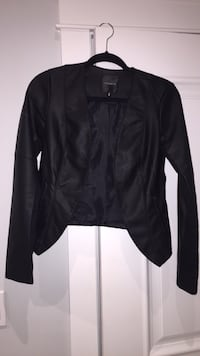 Black leather jacket, size small from dynamite  Surrey, V3R 5K8