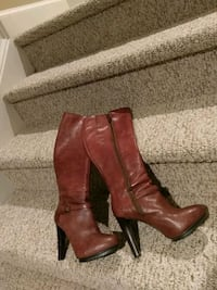 7.5 Leather Nine West Boot (Retail $120) Woodbridge, 22193
