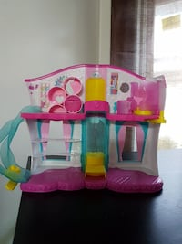 pink, yellow, and green 2-storey dollhouse Edmonton, T5E 4B1