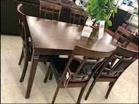 New 7 piece dining room set same day delivery