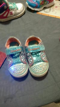25 $Sketxhers two pairs size 5 t and shoes 5t St. John's, A1E 5N8