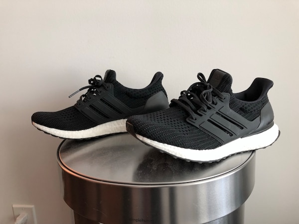detailed look 56503 65230 Adidas Ultra Boost 4.0 Black size 9.5 men