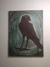 Crow Painting (Home Decor)
