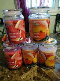 NEW, Scented Candles,23 oz each, $5 each  London, N6K 2X6