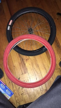 """20"""" bmx bike tires brand new an 1 front rim  ina tubes  included New York, 10035"""