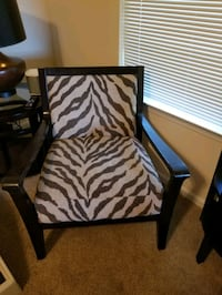 Animal print chair. 2 available  Huntersville, 28078