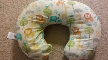2 Boppy nursing pillows with covers - $15 (Summerlin)