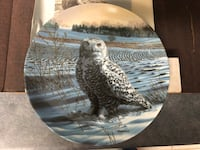 Snowy Owl Collector Plate - by Jim Beaudoin - in orig box Surrey, V3V 7L9
