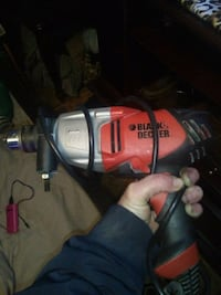 Black and decker power drill ( corded)