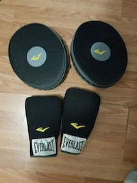 Boxing gloves and sparing mits Lowell
