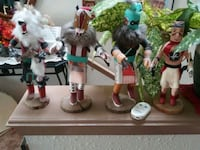 Collection of Native American Kachinas Albuquerque, 87111