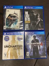 Assorted Playstation 4 (PS4) Games