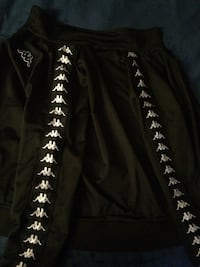 Black and white kappa track jacket(small) Whitby, L1N 4B3