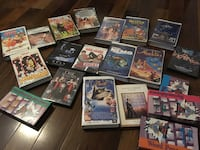 Cassette movies and some are DVD movies everything together price $10 Laval, H7W