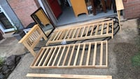 FREE Wood Futon Frame Chantilly, 20151