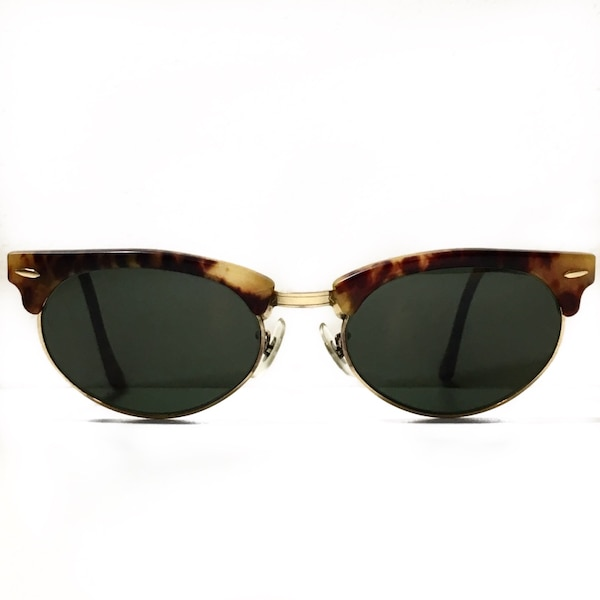358fc7568a3a Used Vintage B L Ray Ban Clubmaster Oval Bausch   Lomb USA for sale ...