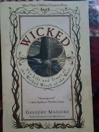 Wicked by Gregory Maguire book Minneapolis, 55431