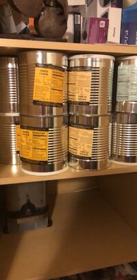 Survival canned food.  Henderson, 89074