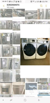 two white washer and dryer set screenshot St. Peters, 63376