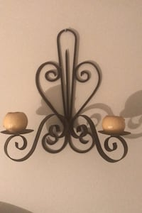 Rod Iron Wall Sconces (2) Toronto, M3H 4A1