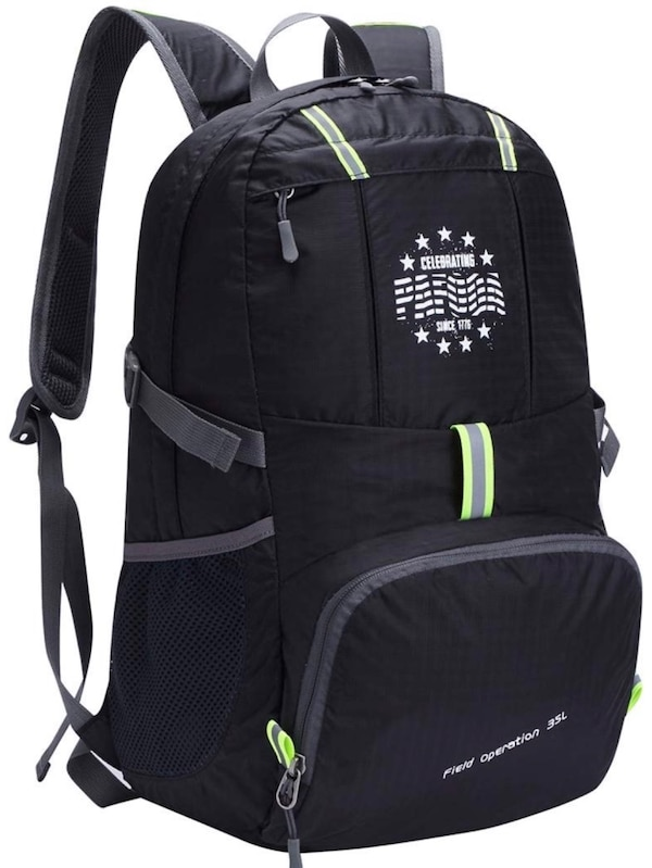 15c7f47fec8b Lightweight Packable Durable Water Resistant Travel Hiking Backpack Daypack  Foldable Outdoor Bag Large 35L