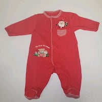 Little Me First Christmas Newborn Onesie Footed Goose Creek, 29445
