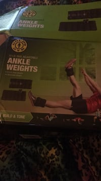 Golds gym ankle weights Jackson, 39206